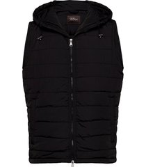 liner hood waistcoat vest zwart oscar jacobson