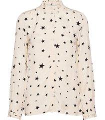 jennifer blouse blouse lange mouwen crème fabienne chapot