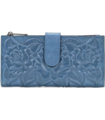 patricia nash nazari embossed leather wallet
