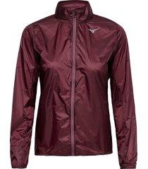 aero jacket outerwear sport jackets röd mizuno