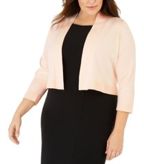 calvin klein plus size basic shrug
