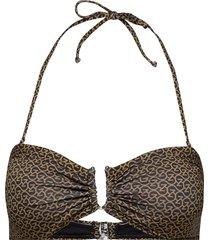 canagz bikini top bikinitop brun gestuz