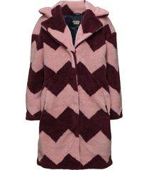 marble jacket lange jas jas multi/patroon svea