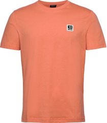 t-diegos-k30 t-shirt t-shirts short-sleeved orange diesel men
