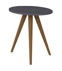 mesa lateral 500 expresso be mobiliário cinza