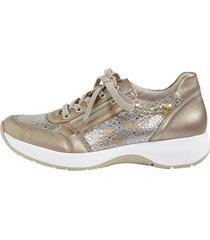 skor remonte guldfärgad