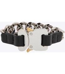 1017 alyx 9sm chain bracelet w leather detals