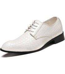 hombres zapatos de cuero formales para hombres zapatos oxfords de fiesta