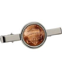 american coin treasures lincoln union shield penny coin tie clip