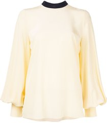roksanda full sleeve blouse - yellow