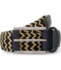 anderson's belts elastic woven belt | navy | 3106-bf