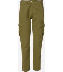 edwin men's 45 combat pants - military green - w36
