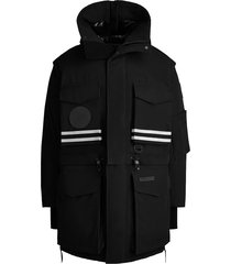 canada goose x angel chen snow mantra convertible coat - black