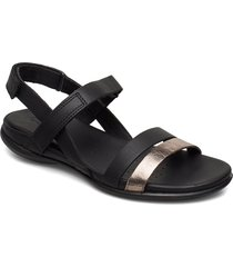 flash shoes summer shoes flat sandals svart ecco