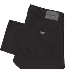 emporio armani black j45 slim jeans 8n1j45