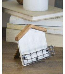 vip home & garden wood card holder