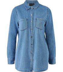 jeansskjorta vmmila ls long shirt mix
