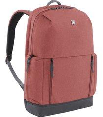 men's victorinox swiss army altmont classic deluxe backpack - burgundy