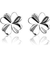 orecchini belli del fiore dell'argento sterlina 925