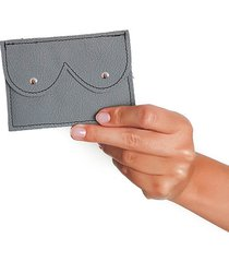 mini portfel szary