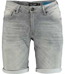 cars jeans korte broek grijs regular fit 43367/13