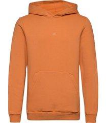 hanger hoodie hoodie trui oranje holzweiler