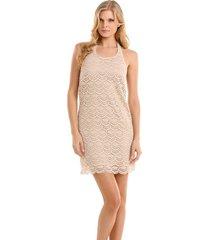 flor dress - guess - jurken - ecru