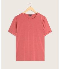 camiseta manga larga con guardapolvo unicolor