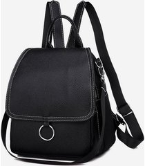 casual cover o ring small backpack