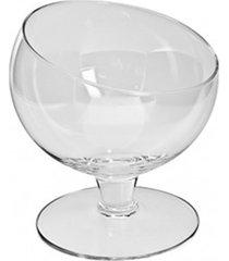 taça pequena, bomboniere de vidro 12x11cm - festas, hoteis, buffet - kanui