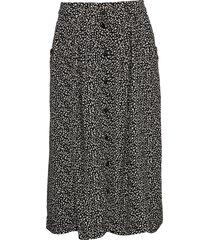 melville skirt knälång kjol svart designers, remix