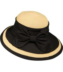 callanan picture brim bow hat