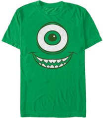disney pixar men's monsters inc. mike wazowski big face costume short sleeve t-shirt