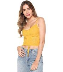 blusa amarilla mítica