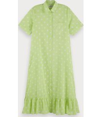 scotch & soda cotton polka dot dress