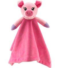 naninha em plush sonho de luz porquinha rosa - tricae