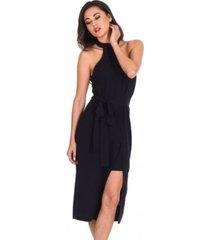 ax paris wrap skirt cut in neck dress