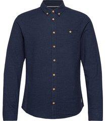 shirt skjorta casual blå blend