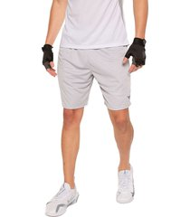 pantaloneta deportiva gris claro jogo