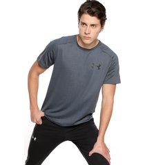 camiseta azul-negro under armour mk1ss emboss