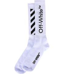 off-white off white mid socks