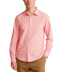 dockers men's slim-fit garment-dyed oxford shirt