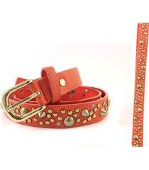 cinturón rojo almacén de paris