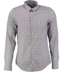 garcia cotton stretch slim fit overhemd