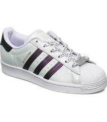 superstar w låga sneakers vit adidas originals