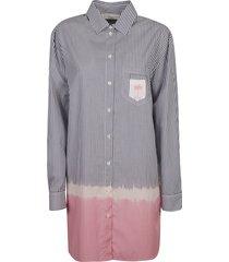 palm angels dip dye shirt dress