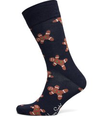 gingerbread sock underwear socks regular socks blå happy socks