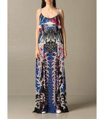 just cavalli dress long just cavalli printed dress