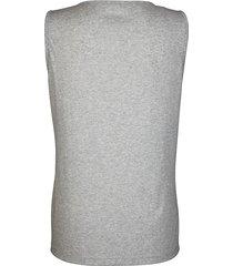 ärmlös topp dress in grå