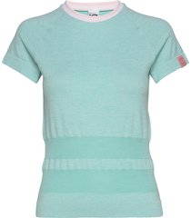 solveig tee t-shirts & tops short-sleeved blå kari traa